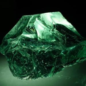 Kamień Light Green - Glass 100 - 300